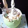 3D Poring Milk Jug Bespoke Novelty Cake from £235