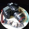 Canon SLR Camera Novelty Cake