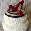 Ruffles & Shoes Celebration Cake from from £230