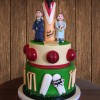 Novelty Cricket Themed Wedding Cake from £400