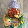 Disney Tangled Celebration Cake from £180 feeds 60+