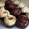 Assorted Frosted Cupcakes £1.99 each Chocolate, Salted Caramel and Vanilla
