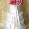 3 Tier Old School Traditional Wedding Cake from £295
