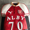 Large Football Shirt Novelty Cake £130 feeds 50+ Available in a variety of flavours