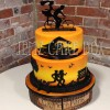 Triathlon Themed Wedding Cake From £435