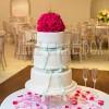 Contemporary Polka Dot Wedding Cake From £600
