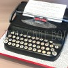 3D Typewriter Novelty Cake From £175