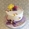 Floral Basic Celebration Cake