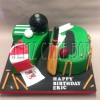 Numeral Sports Themed Birthday Cake