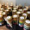 Rainbow Themed Cake In a Jar