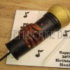 Rappers Microphone Cake Novelty from £170