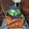 Novelty Vegetable Wedding Cake