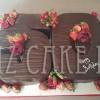 Numeral Chocolate Ganache 50th Celebration Cake