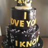 Star Wars Celebration Cake