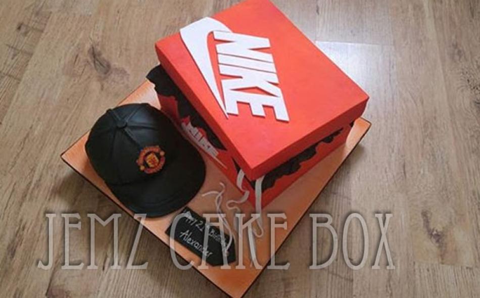 Nike Shoe Box Novelty Cake £225Nike Shoe Box Novelty Cake £225 ... faeac9a47c3