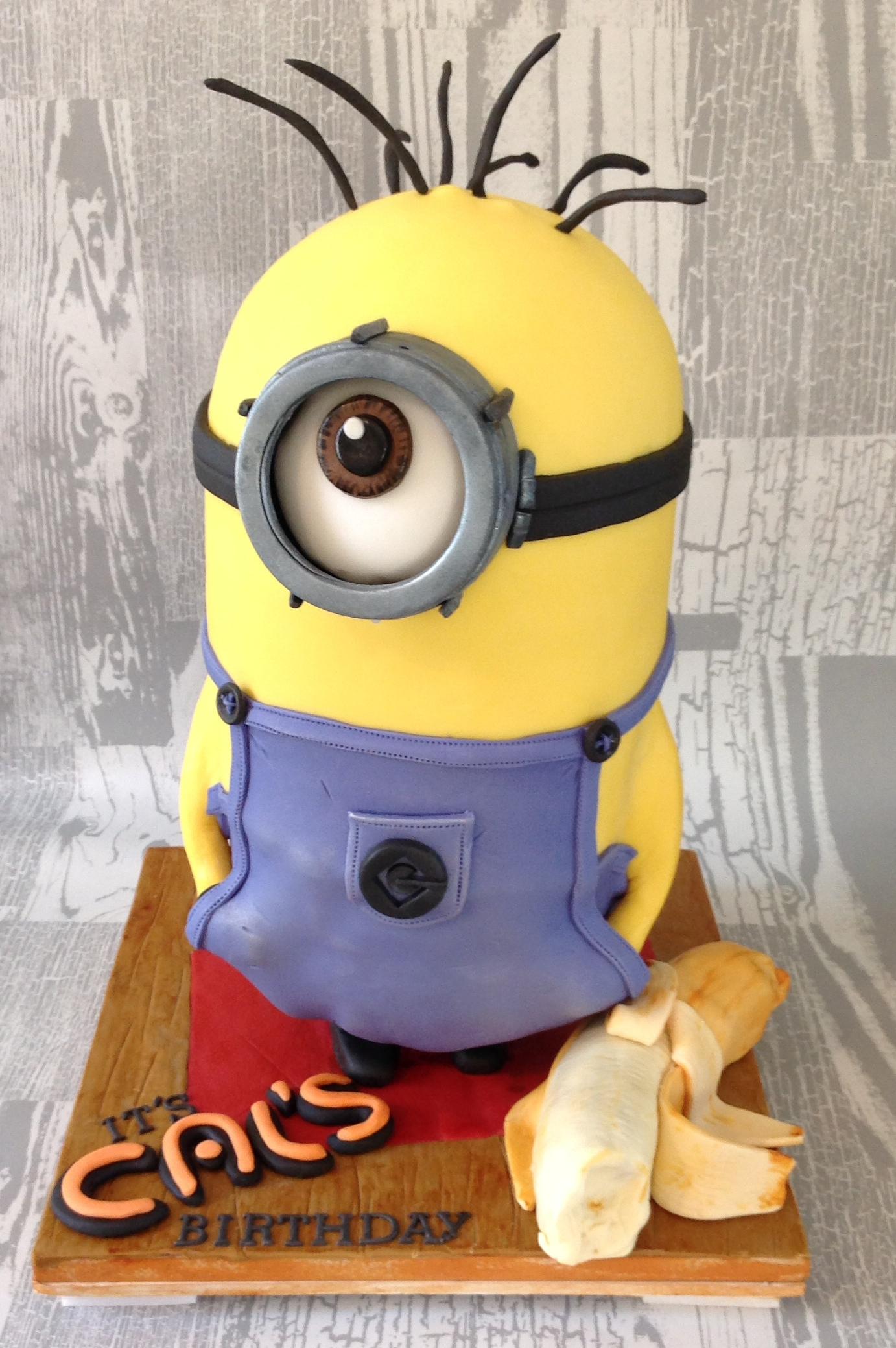Minion D Cake Price