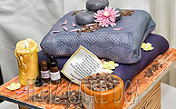 Aromatherapy Themed Bespoke Novelty Cake from £210