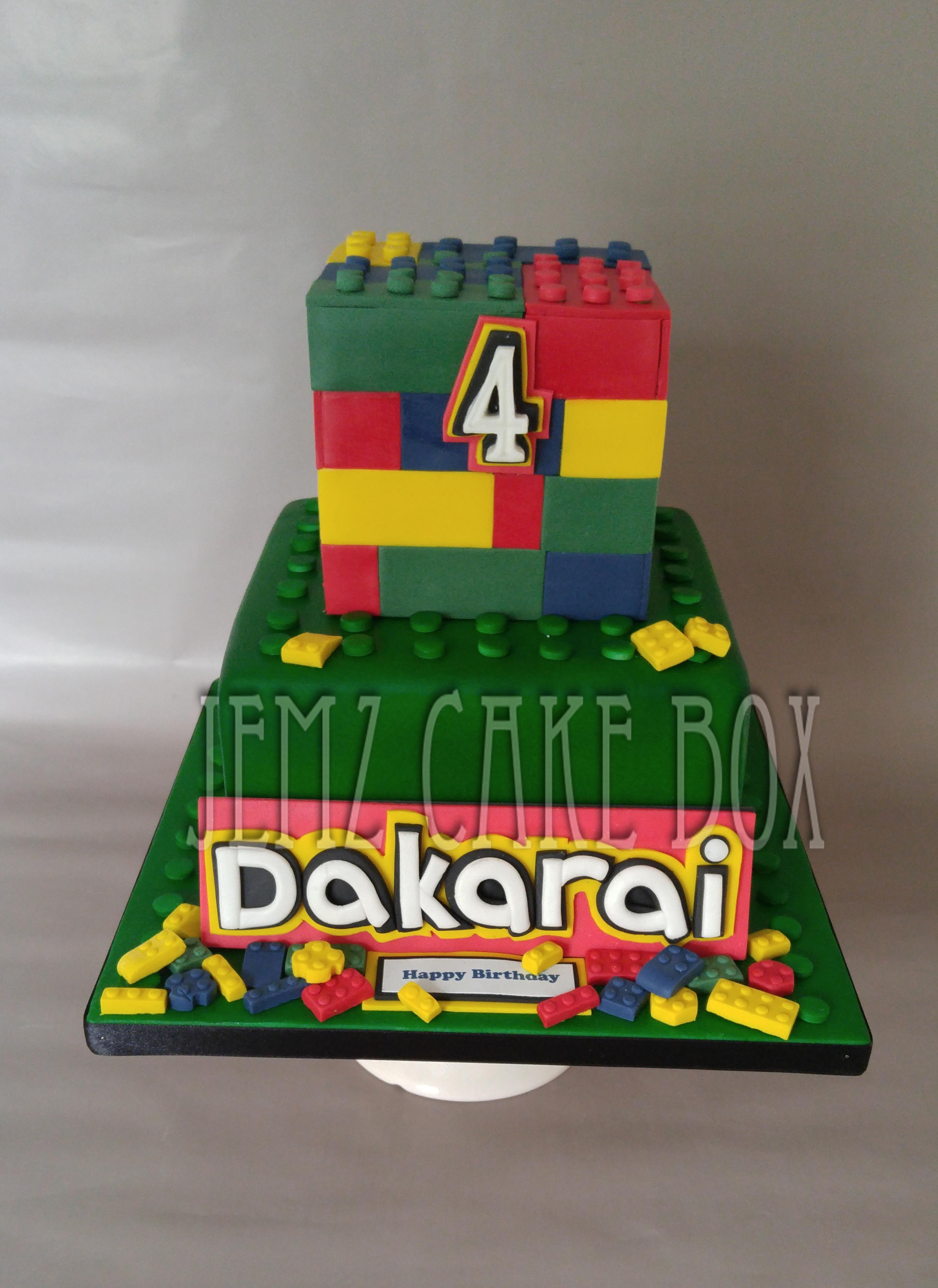 Lego Celebration Cake Jemz Cake Box