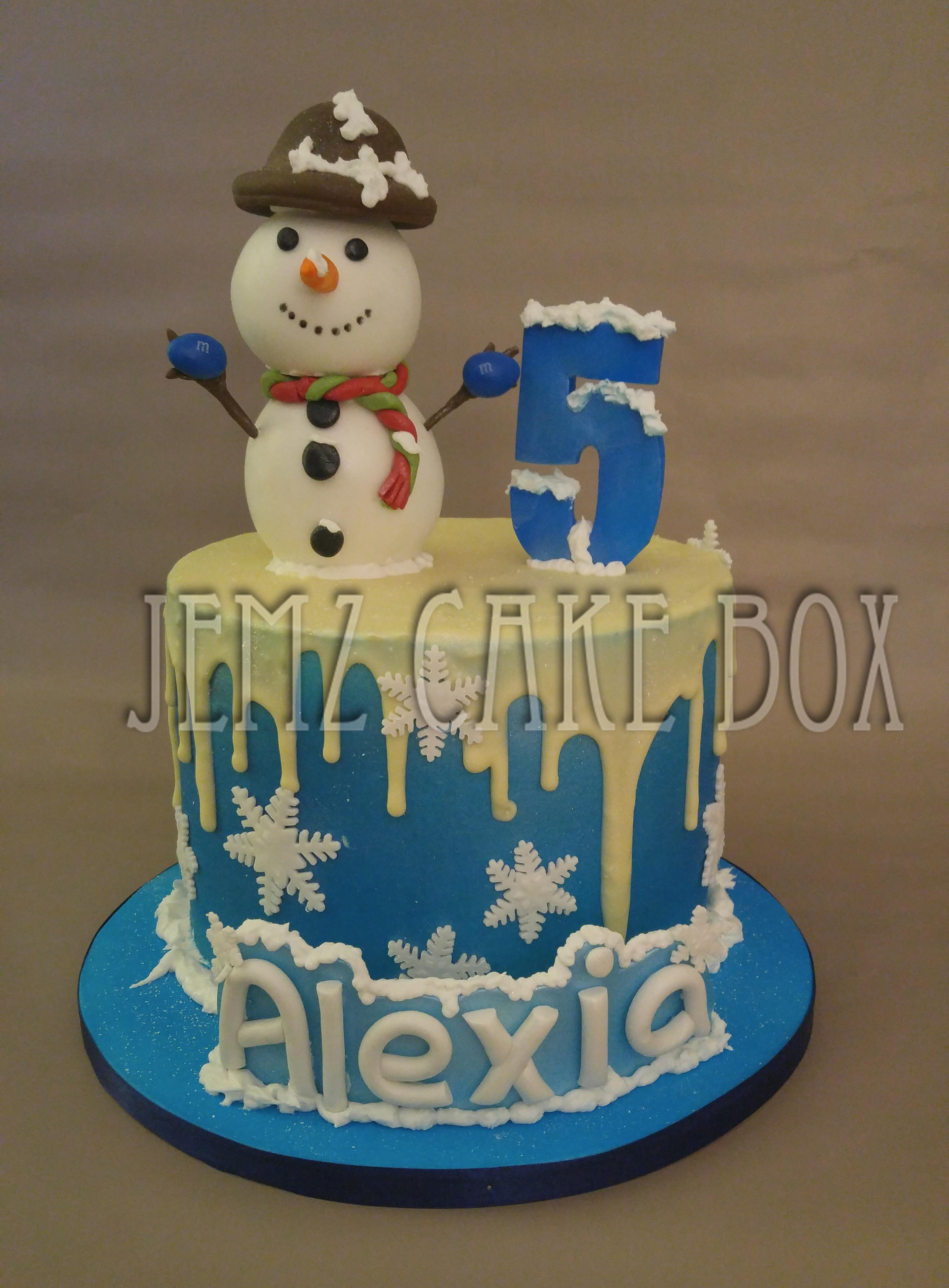 Celebration Cakes Jemz Cake Box