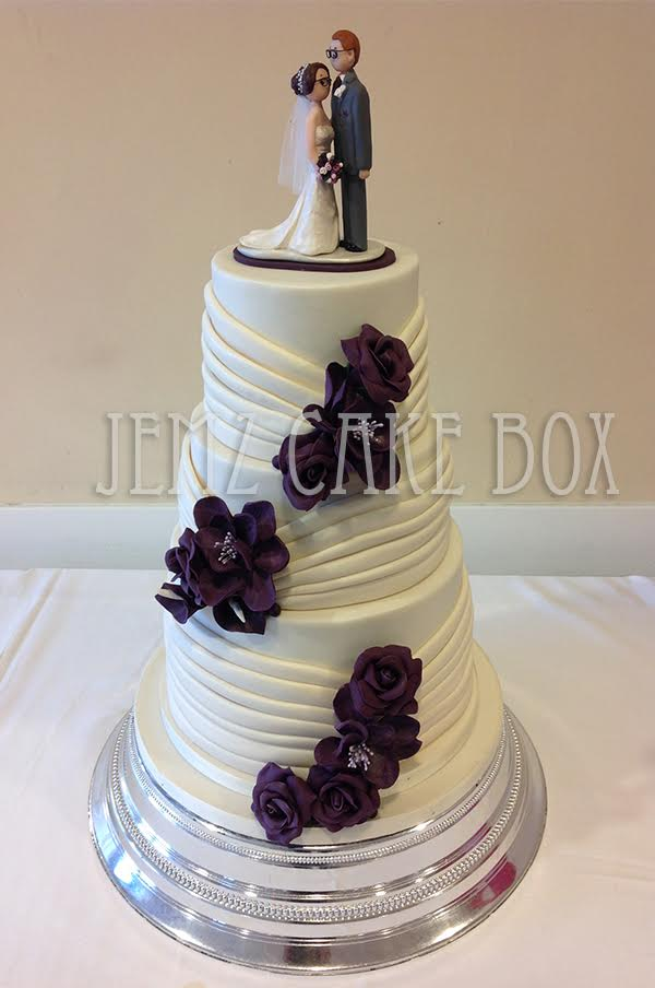3 tiered wedding cake pictures wedding cakes jemz cake box 10227